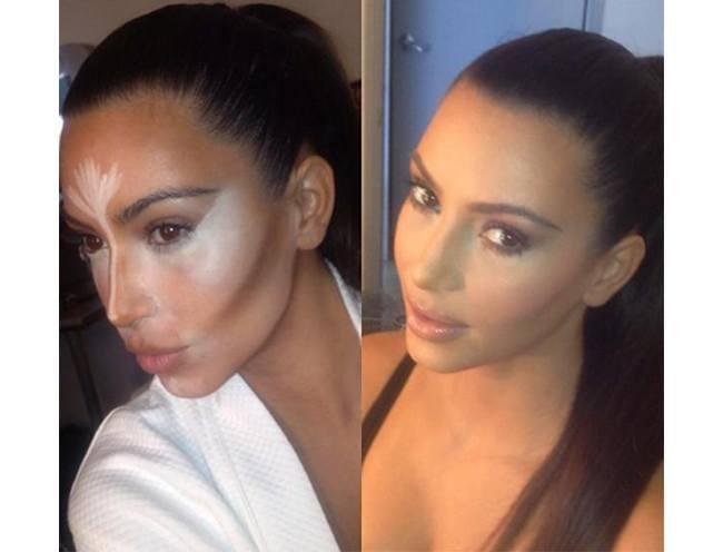 Machen Sie Chubby Wangen dünner mit Make-up