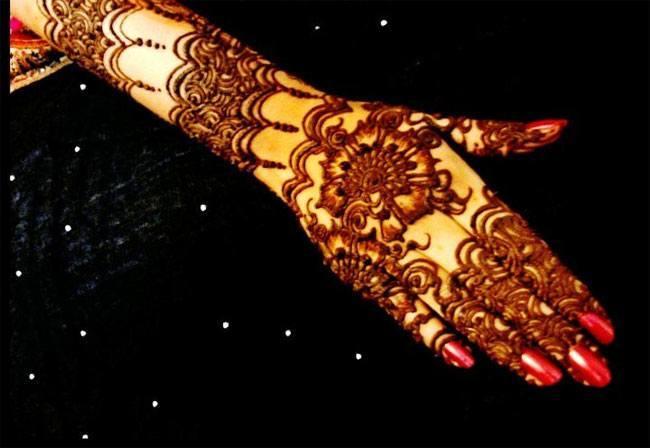 latest bridal mehndi designs for hands