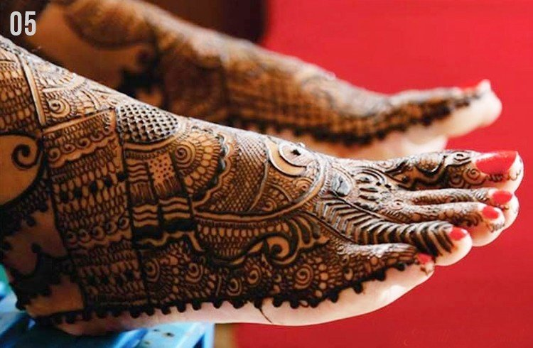 Mehndi Designs Feet N : Marwari mehndi designs for hands and feet