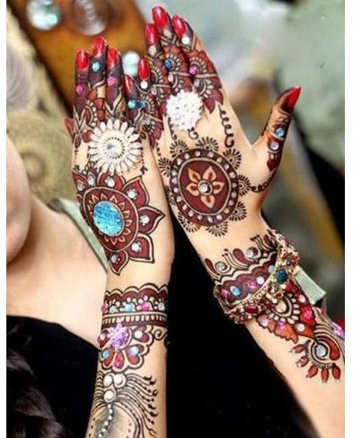 Mehendi designs of pakistan