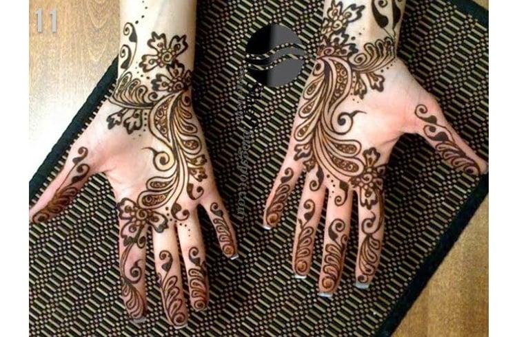 Marwadi Mehandi Design hands