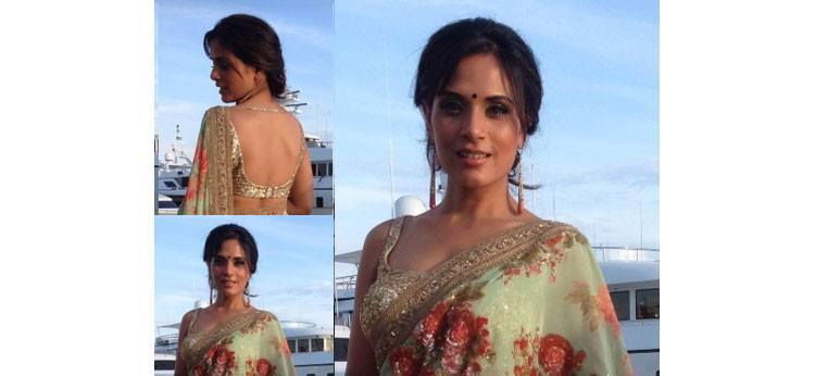 richa chadha blouse designs