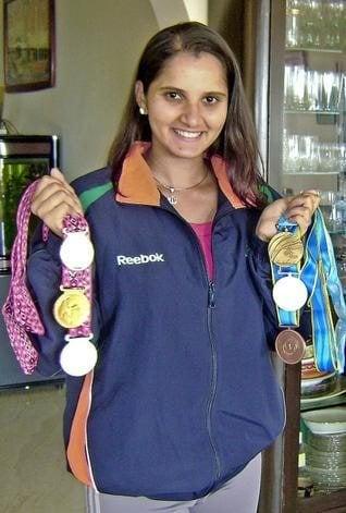 Sania Mirza Medals