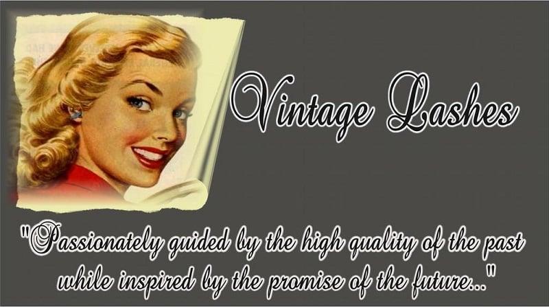 Vintage Fake Eyelashes