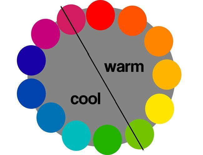 warm cool colors