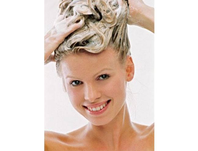 washing your hair