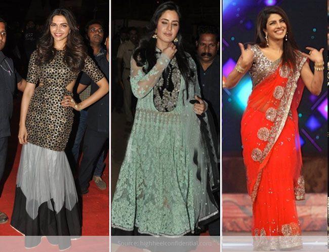 Bollywood Actresses at The Umang Police Show 2015