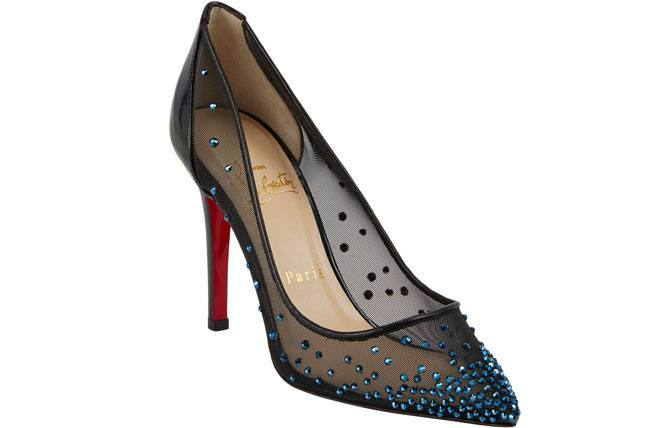 Christian Louboutin Body Strass Jeweled Pumps