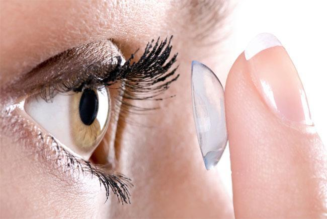 Extra pair of contact lenses