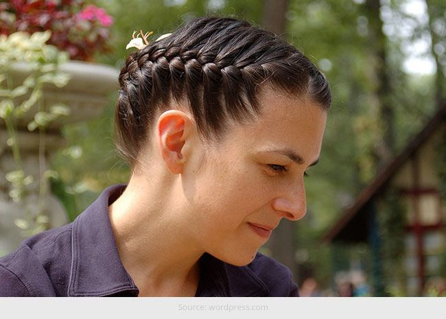 French Braid Hairstyles For Long Hair
