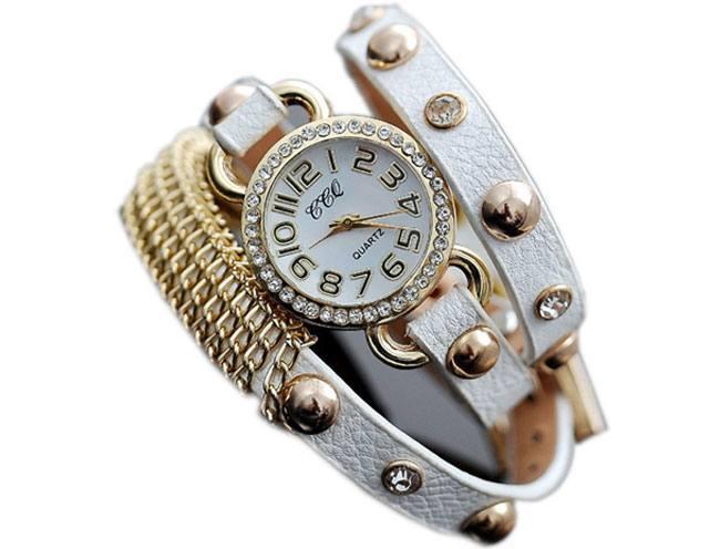 Golden Chain Watch
