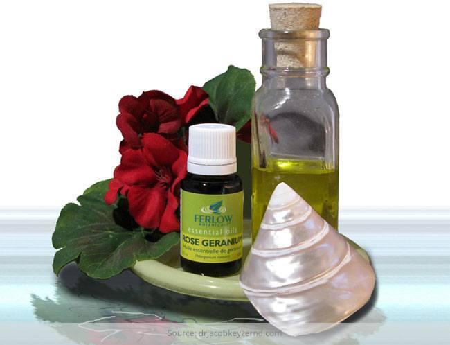 Healing Power of Geranium Oil
