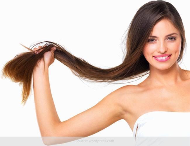 Wie man das Haar gesund macht