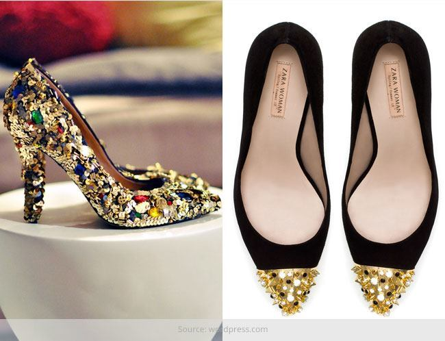 Jewel Studded Shoe-Stoppers