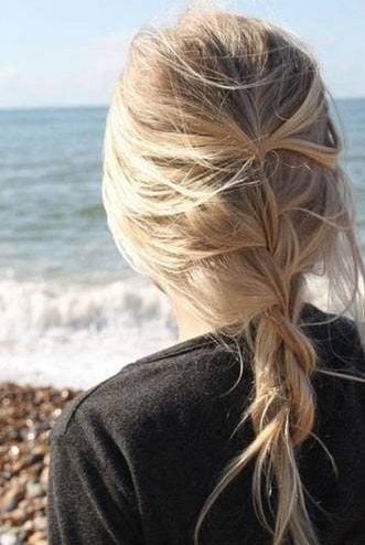 Messy Braid Hairstyle