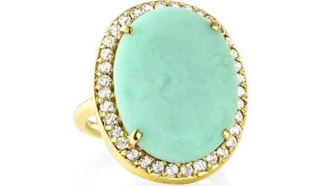 Ophelia Cocktail Ring from Margaret Elizabeth