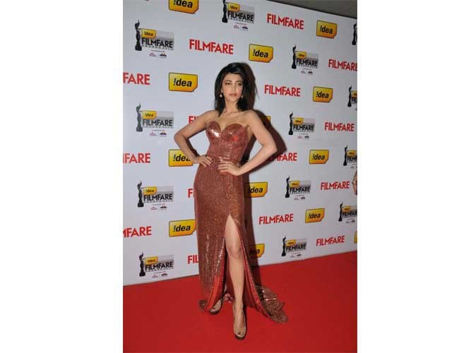 Shruthi Hassan in Sailex Gown