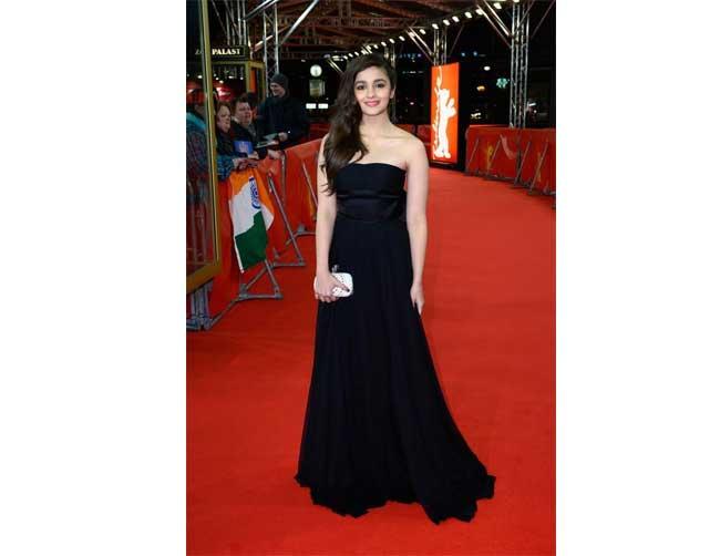 Alia Bhatt in Dior Gown