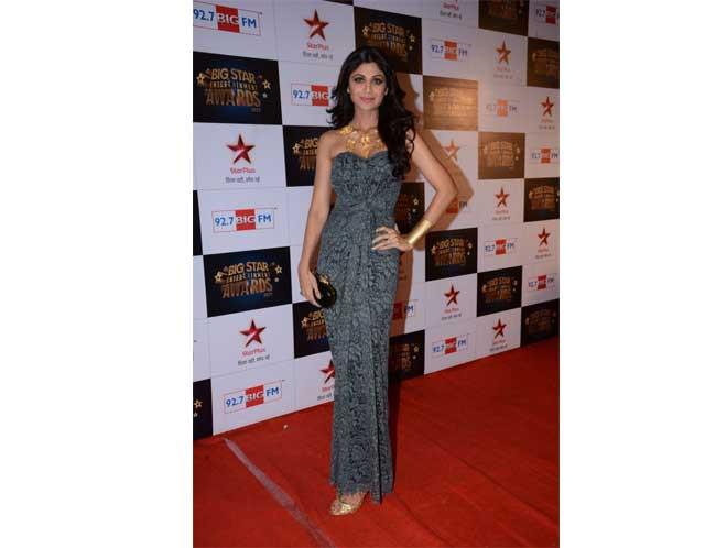 Shilpa Shetty Kundra in Dolce & Gabbana Gown
