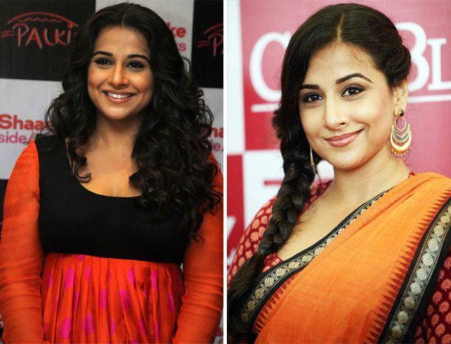 Vidya Balan look slimmer