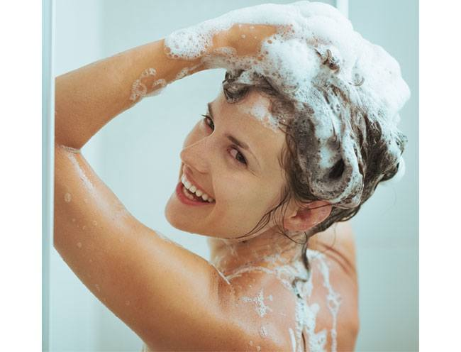 Wash Your Hair When You Feel The Need