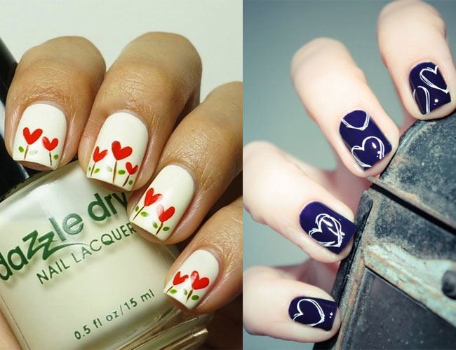 The Season of Love: Valentine\'s Day Nail Art Designs