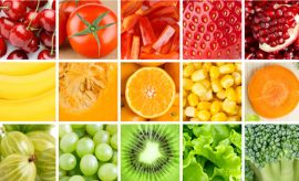 Colorful Food for Diet