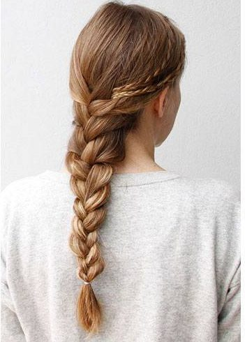 french braid with a twist