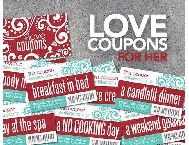 love coupons