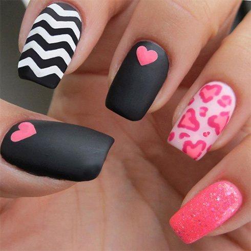 Matte nail arts