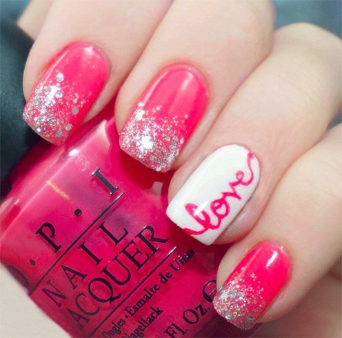 The season of love valentines day nail art designs nail art for valentines day prinsesfo Choice Image