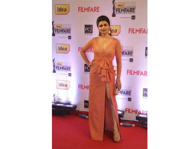 Prachi Desai in Swapnil Shinde Gown