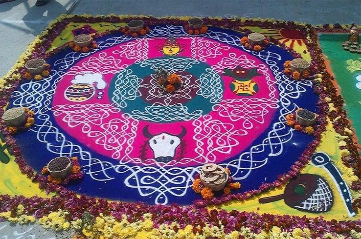 Sankranthi rangoli designs