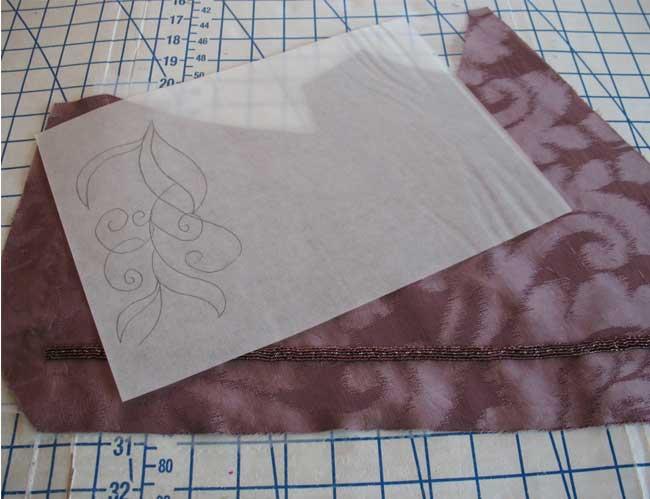 Sketch out the leaflet design