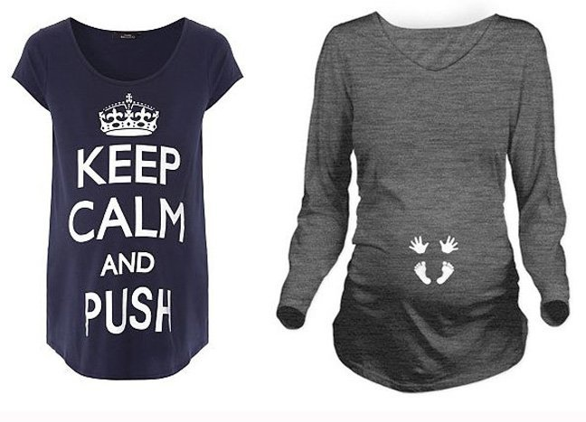 04b6ae671eda3 Cute Maternity T-shirts for All To-Be Mom's .