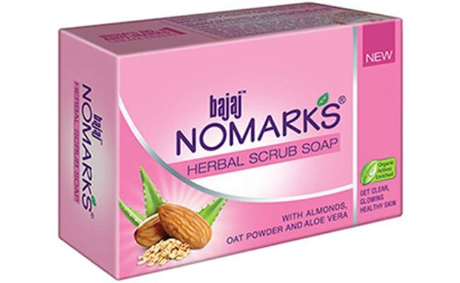 Bajaj Nomarks Herbal Scrub Soap