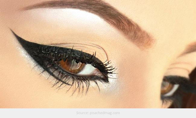 Choose Eyeliners for Different Eyebrow Shapes