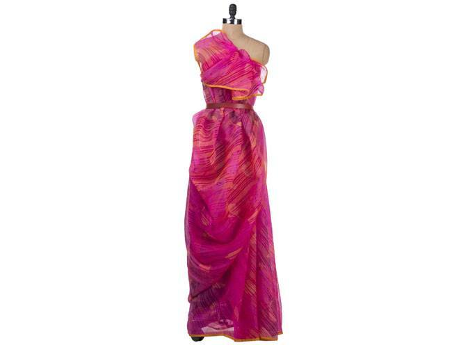 Cocktail Sari by Fuchsia Designs
