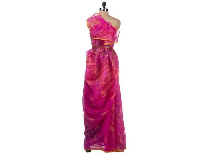 Cocktail Sari by Fuchsia Designs