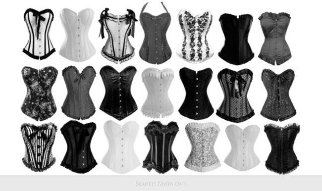 Corset Guide Which Type of Corset Should Be Worn Under What Clothing