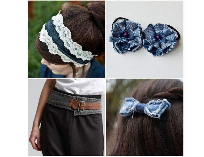 DIY Denim Accessories