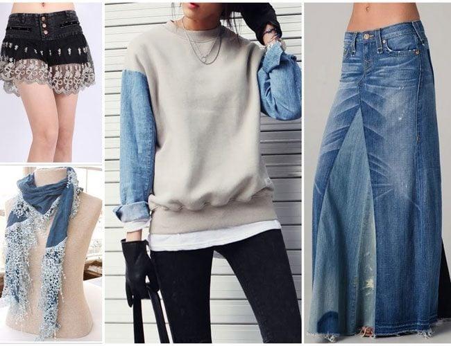 DIY Denim Clothing