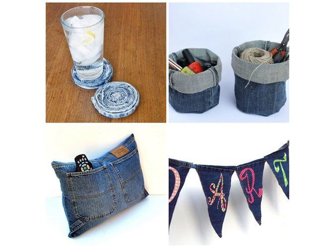 DIY Denim Home Decor