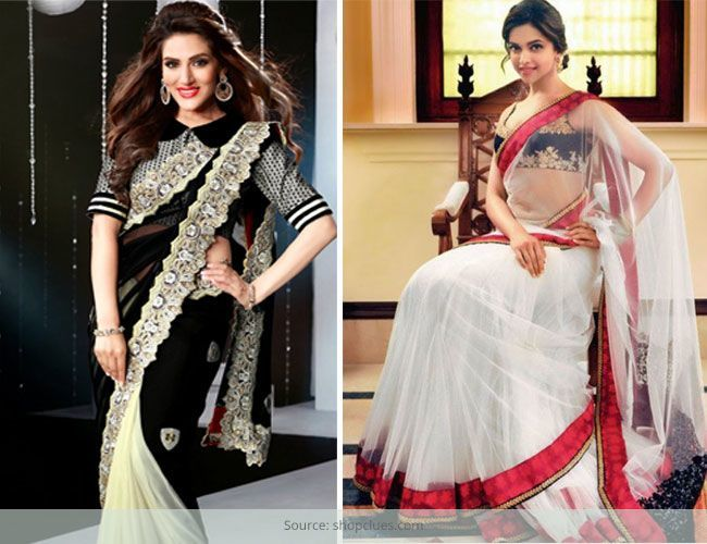 Eclectic & Contemporary Cocktail Sarees