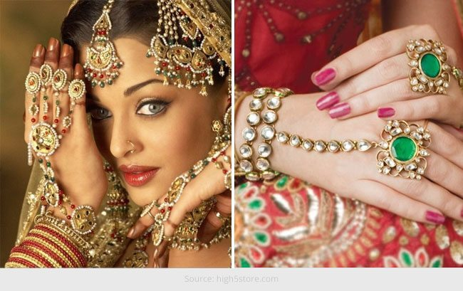 Hathphool Jewellery For Your Hands