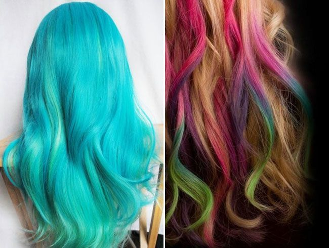Hair Chalking: Coolest Hair Coloring Trend
