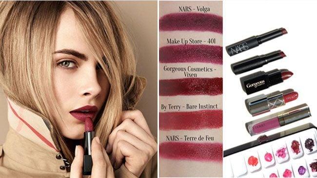 Marsala lipstick