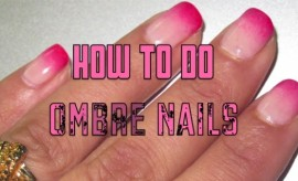 Ombre Nail Art Design