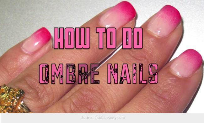 Ombre Nail Art Design