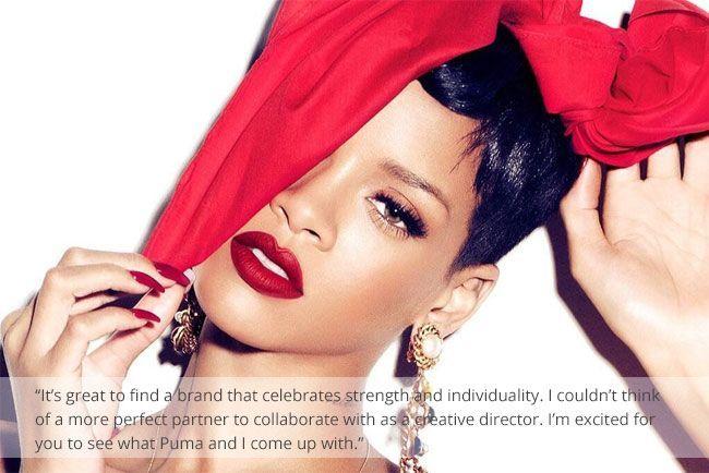 Partnership between Rihanna and Puma